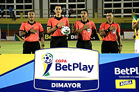MAGANGUE-COLOMBIA, 04-03-2020: Real Cartagena y Atletico F.C. durante partido de vuelta de la 1ra ronda de clasificacion de la Copa BetPlay DIMAYOR 2020 en el estadio Diego Carvajal de la ciudad de Magangue. / Real Cartagena y Atletico F.C. during a match of the second leg of the 1st qualifying round of the BetPlay DIMAYOR Cup 2020  at the Diego Carvajal stadium in Magangue city. / Photos: VizzorImage / Juan Diaz / Cont.