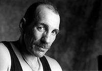 le boxeur Gaetan Hart<br />  date inconnue (vers 1990)<br /> <br /> <br /> PHOTO D'ARCHIVE: agence Quebec Presse