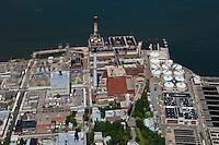 aerial photograph Brooklyn Navy Yard Cogeneration Facility, Brooklyn, New York