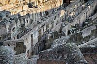 Interior of the Colosseum, Rome Italy