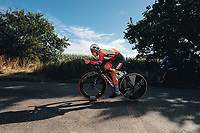 6th October 2021 Womens Cycling Tour, Stage 3. Individual Time Trial; Atherstone to Atherstone. Hayley Simmonds.