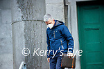 Garda Bernard Geaney at Tralee Court on Monday.
