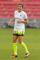 Chicago, IL - Sunday Sept. 04, 2016: Michelle Cruz prior to a regular season National Women's Soccer League (NWSL) match between the Chicago Red Stars and Seattle Reign FC at Toyota Park.