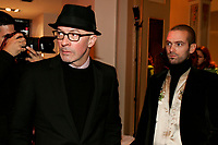 October 22 2005, Montreal (Qc) Canada <br /> Jacques Audiart, film maker (L),<br /> Romain Duris, actor (R) attend the screening of DE BATTRE, MON COEUR S EST ARRETE, Closing movie of the Montreal New Cinema Festival, at The Imperial Theater.