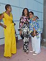 MIAMI, FL - JULY 18: Garcelle Beauvais (C) is seen arriving at Mila Restaurant with her sister Chantal Harris (L) and Gladys Casimir (R) on July 18, 2021 in Miami, Florida. ( Photo by Vallery Jean / jlnphotography.com )
