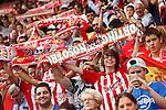 Sporting de Gijon's supporters during La Liga match. September 24,2016. (ALTERPHOTOS/Acero)