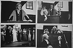 Sidcot School 1967, end of school year play. The Pirate of Penzance.  Staff and pupils. These were postcards I made of the production. 1960s