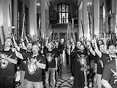 Niepokalanow 08.06.2019 Poland<br /> ''Mary's Warriors'' - hundreds of men met in the shrine in Niepokalanów during the accolade of new members of the male-only secular order.<br /> Photo: Adam Lach