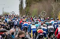 team support (wheels!) after the Holleweg cobbles<br /> <br /> 105th Ronde van Vlaanderen 2021 (MEN1.UWT)<br /> <br /> 1 day race from Antwerp to Oudenaarde (BEL/264km) <br /> <br /> ©kramon