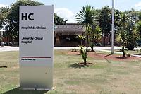 Campinas (SP), 30/03/2020 - Fachada do Hospital das Clinicas da Unicamp, em Barão Geraldo, na cidade de Campinas, interior de São Paulo.