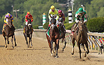 Royal Delta (#1, right), Jose Lezcano up, wins the Black-Eyed Susan at Pimlico Race Course, Baltimore, MD, on May 20, 2011. (Photo by Joan Fairman Kanes/Eclipse Sportswire)