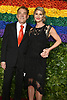 Des McAnuff and Bryna McCann attends the 2019 Tony Awards on June 9, 2019 at Radio City Music Hall in New York, New York, USA.<br /> <br /> photo by Robin Platzer/Twin Images<br />  <br /> phone number 212-935-0770