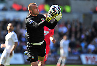 sport...swansea v southampton...liberty stadium...saturday 20th april 2013....<br /> <br /> <br /> Southampton's keeper Artur Boruc.