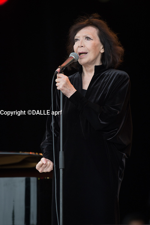 Juliette GReco<br />13/09/2015<br />fete d el'humanite<br />©  WOLFF PATRiCK/DALLE