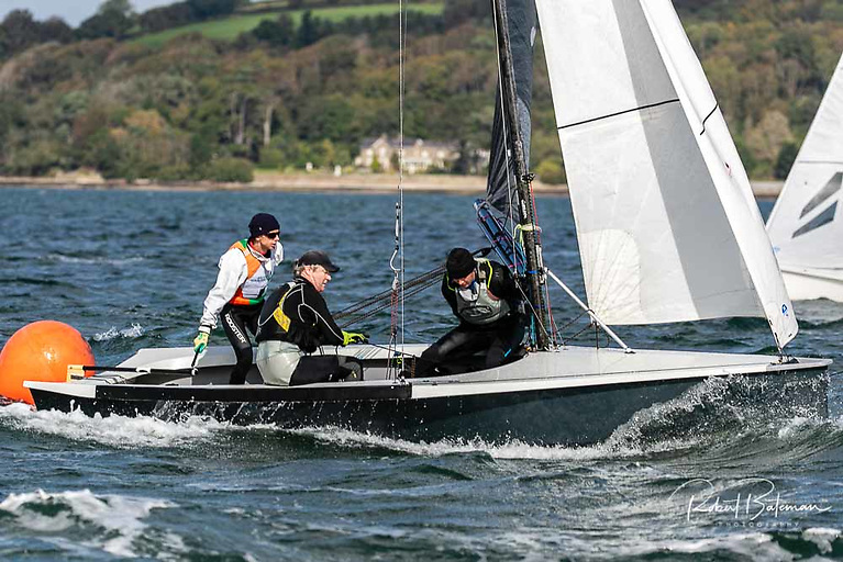 Ger Owens and Ross Killian were winners of the 2021 All Ireland Sailing Championships at RCYC. Scroll down for photo gallery