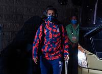 SAN PEDRO SULA, HONDURAS - SEPTEMBER 8: Tyler Adams #4 of the United States enters the stadium before a game between Honduras and USMNT at Estadio Olímpico Metropolitano on September 8, 2021 in San Pedro Sula, Honduras.