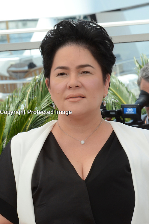 Jaclyn Jose attends the 'Ma 'Rosa' Photocall during the 69th annual Cannes Film Festival at the Palais des Festivals on May 18, 2016 in Cannes, France