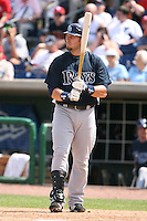 March 18th 2008:  Eric Hinske of the Tampa Bay Devil Rays during a Spring Training game at Bright House Networks Field in Clearwater, FL.  Photo by:  Mike Janes/Four Seam Images