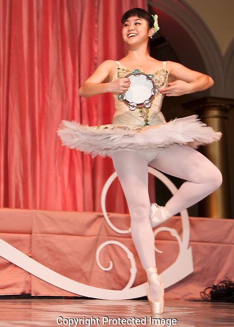 Ballerina with Tambourine