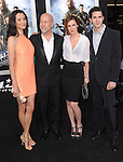 Emma Heming, Bruce Willis and Rumer Willis at The Paramount Pictures' L.A. Premiere of G.I. Joe : Retaliation held at The Grauman's Chinese Theater in Hollywood, California on March 28,2013                                                                   Copyright 2013 Hollywood Press Agency