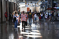 SAN JOSE, CA - JUNE 26: Fans before a game between Los Angeles Galaxy and San Jose Earthquakes at PayPal Park on June 26, 2021 in San Jose, California.