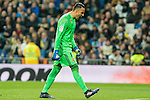 Keylor Navas of Real Madrid  during the match of Spanish La Liga between Real Madrid and UD Las Palmas at  Santiago Bernabeu Stadium in Madrid, Spain. March 01, 2017. (ALTERPHOTOS / Rodrigo Jimenez)