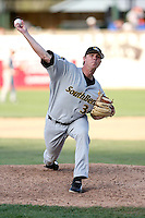April 28, 2007: Christian Chase of the South Bend SilverHawks at Elfstrom Stadium in Geneva, IL  Photo by:  Chris Proctor/Four Seam Images