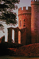 Hagley Park, Lord  Lyttelton's Castle designed by Sanderson Miller, 1747.