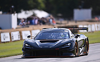 9th July 2021;  Goodwood  House, Chichester, England; Goodwood Festival of Speed; Day Two; Rob Bell drives a McLaren 720S GT3X in the Goodwood Hill Climb