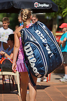 Netherlands, Dordrecht, August 03, 2015, Tennis,  National Junior Championships, NJK, TV Dash 35, big bag<br /> Photo: Tennisimages/Henk Koster