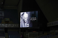 2nd February 2021; The Den, Bermondsey, London, England; English Championship Football, Millwall Football Club versus Norwich City; Tributes Captain Sir Tom Moore who passed away today at the age of 100