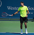 Juan Martin DelPotro wins  at the Western and Southern Financial Group Masters Series in Cincinnati on August 16, 2012