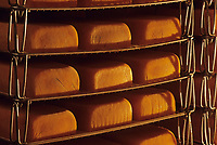 Europe/Belgique/Wallonie/Province du Luxembourg/Orval : L'Abbaye - Fromagerie - Fromages de l'Abbaye