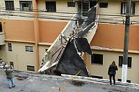 07.08.2018 - Prédio corre risco de desabamento na Vila Mariana em SP