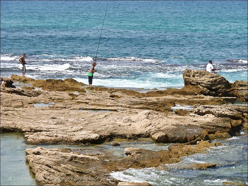 Mediterranean Surf Fishing, Ceasarea