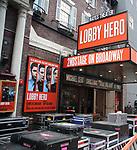 'Lobby Hero' - Theatre Marquee