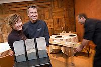 Europe/France/Rhône-Alpes/74/Haute-Savoie/Annecy-le-Vieux: Martine et Laurent Petit Restaurant Le Clos des Sens<br />    [Non destiné à un usage publicitaire - Not intended for an advertising use]