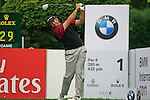 Retief Goosen (RSA) tees off on the 1st tee to start his round during of Day 3 of the BMW International Open at Golf Club Munchen Eichenried, Germany, 25th June 2011 (Photo Eoin Clarke/www.golffile.ie)