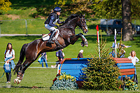 GBR-Mollie Summerland rides Charly van ter Heiden during the ERM CCI-S4* Cross Country. 2019 GBR-Dodson and Horrell Chatsworth International Horse Trial. Sunday 12 May. Copyright Photo: Libby Law Photography