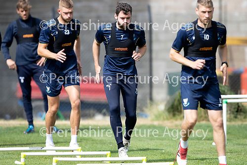 St Johnstone Training….23.07.18<br />Drey Wright pictured during training at McDiarmid Park<br />Picture by Graeme Hart.<br />Copyright Perthshire Picture Agency<br />Tel: 01738 623350  Mobile: 07990 594431