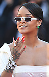 NON EXCLUSIVE PICTURE: MATRIXPICTURES.CO.UK<br /> PLEASE CREDIT ALL USES<br /> <br /> WORLD RIGHTS<br /> <br /> Rihanna attending the 'Okja' screening, during the 70th Cannes Film Festival, France.<br /> <br /> MAY 20th 2017<br /> <br /> REF: RHD 171023