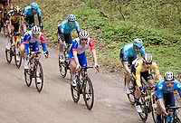Hugo Houle (CAN/Astana-Premier Tech)<br /> <br /> 55th Amstel Gold Race 2021 (1.UWT)<br /> 1 day race from Valkenburg to Berg en Terblijt; raced on closed circuit (NED/217km)<br /> <br /> ©kramon