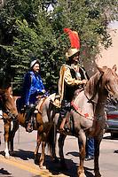 """""""Don Diego de Vargas"""" at the Fiesta de Santa Fe, New Mexic"""