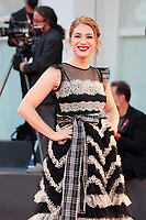 """VENICE, ITALY - SEPTEMBER 10: Ludovica Martino walks the red carpet ahead of the movie """"Nuevo Orden"""" (New Order) at the 77th Venice Film Festival on September 10, 2020 in Venice, Italy. <br /> CAP/MPI/AF<br /> ©AF/MPI/Capital Pictures"""