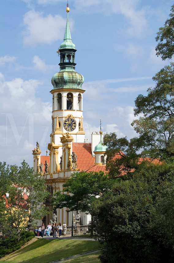 Tower of Loreta Church, Prague, Czech Republic