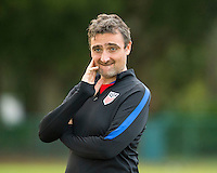Orlando, FL - Friday Oct. 14, 2016:   Lead coaching instructor Vanni Sartini during a US Soccer Coaching Clinic in Orlando, Florida.