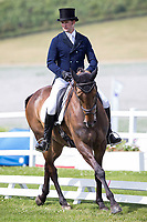 NZL-Tim Rusbridge (FIELDMASTER SUPREME) INTERIM-45TH: CIC2* DRESSAGE: 2014 GBR-St James Place Barbury Castle International Horse Trial (Friday 4 July) CREDIT: Libby Law COPYRIGHT: LIBBY LAW PHOTOGRAPHY - NZL