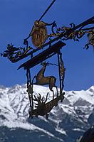 Europe/Autriche/Tyrol/Innsbruck: Vieille enseigne
