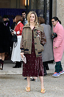 Dianna AGRON - Show Miu Miu - Paris Fashion Week Womenswear Fall/Winter 2017/2018 - France