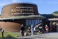 Nationalpark-Zentrum Königstuhl auf der Insel Rügen, Mecklenburg-Vorpommern, Deutschland